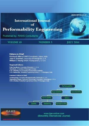 International Journal of Performability Engineering
