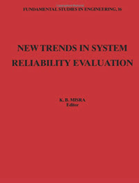 New Trends in System Reliability Evaluation