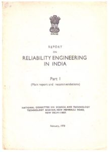 Report on reliability in India